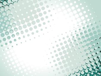 Vector Halbton-Design mit Platz für Text