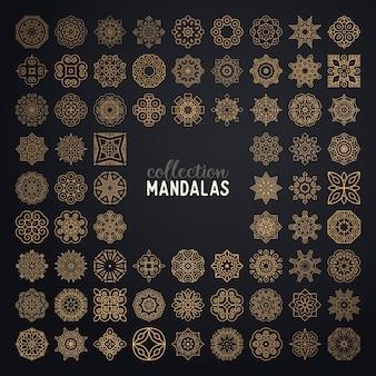 Vector Mandalas Sammlung