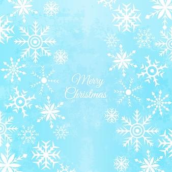 Vector Schneeflocken Hintergrund