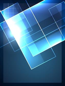 Vektor abstrakte Technologie Hintergrund