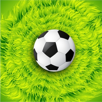 Vektor-Fußball-Design Hintergrund Illustration