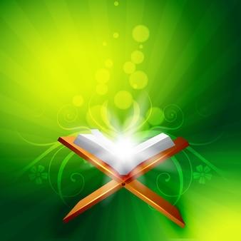 Vektor heiliges Buch von quraan