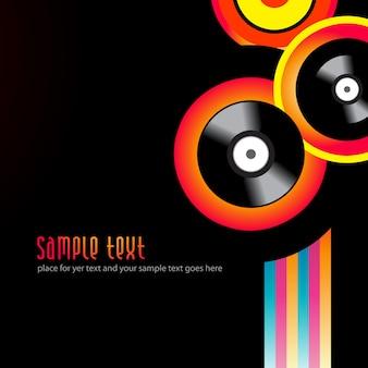 Vektor Musik Hintergrund Design Illustration