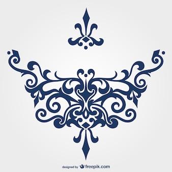 Vektor Ornament freie Grafiken