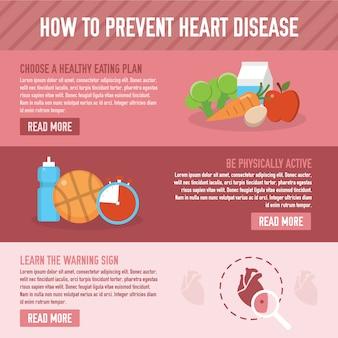 Verhindern Herzkrankheit Hintergrund