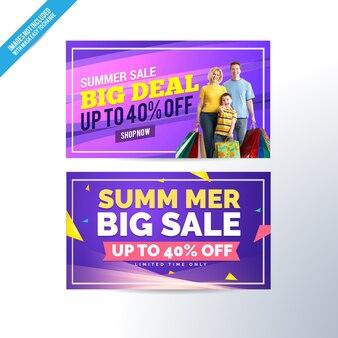 Verkauf-Banner Sammlung