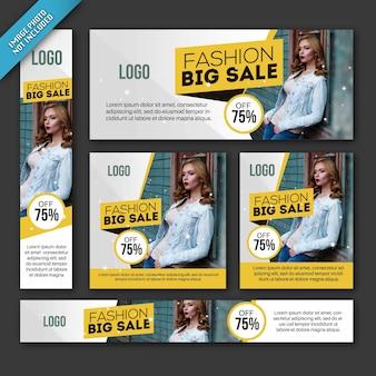 Verkauf Broschüre Vorlagen Sammlung