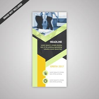 Vertikales Business Banner