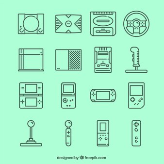 Videospiel-Ikonen