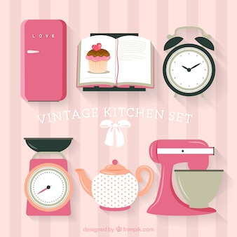 Vintage kitchen set