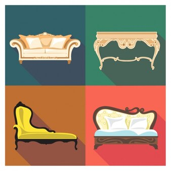 bunte bett symbol download der kostenlosen vektor. Black Bedroom Furniture Sets. Home Design Ideas