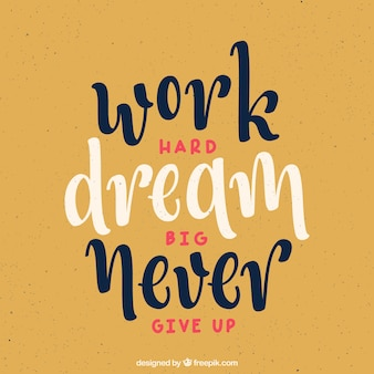 Vintage-Stil motivierend Zitat Hintergrund
