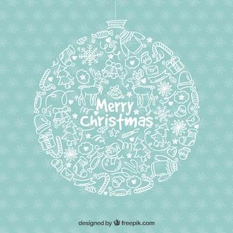 Weihnachten vektoren fotos und psd dateien kostenloser download - Weihnachtskugeln vintage ...