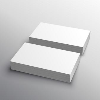 Visitenkarte Mockup Präsentation für die Anzeige