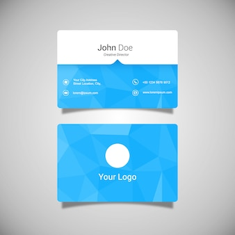 Visitenkarte Vorlage Design