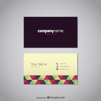 Visitenkarte Vorlage kostenlos Vektor