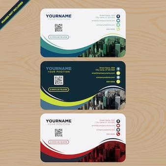 Visitenkarten Sammlung