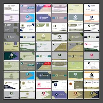 Visitenkarten-Sammlung