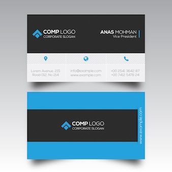 Visitenkartenvorlage Design