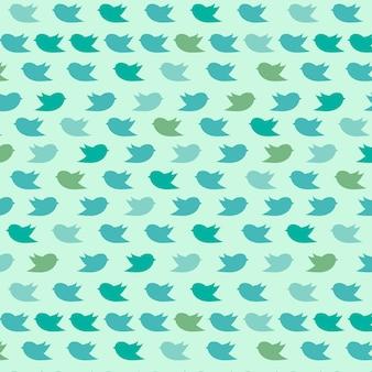 Vögel Muster Hintergrund
