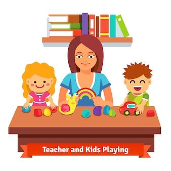 Vorschul-Lernen und Bildung