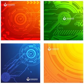 Web-Hintergrund Grafik kreative Stecker
