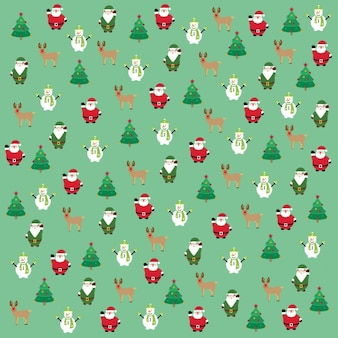 Weihnachtsmuster Vektoren Fotos Und Psd Dateien