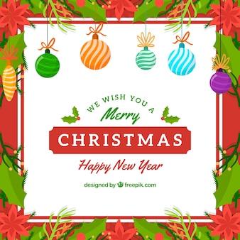 Weihnachten Rahmen Hintergrund