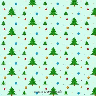 Weihnachtsbaum-Muster