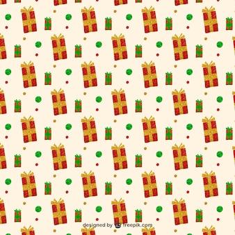 Weihnachtsgeschenk Muster