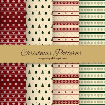 Weihnachtsmuster Sammlung