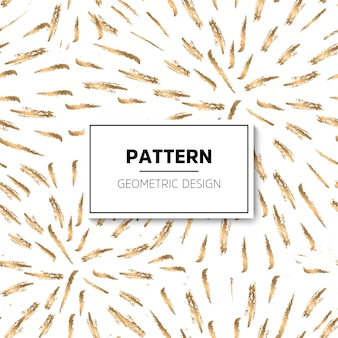Weiß und Gold Muster Abstrakt geometrischen modernen Hintergrund Vektor illustrationShiny Hintergrund Textur der Goldfolie Art Deco Stil Polka Dots Konfetti