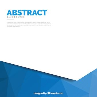 Weißer und blauer abstrakter Hintergrund