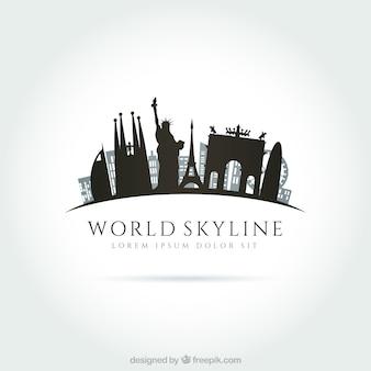 Welt Skyline