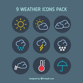 Wetter-Icons Pack