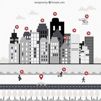 Wifi Nutzer Infografik