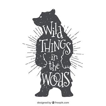 Wilde Dinge im Wald