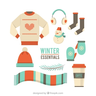 Winter-Kleidung Set
