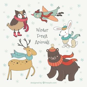 Hirsch vektoren fotos und psd dateien kostenloser download - Animali in inverno clipart ...