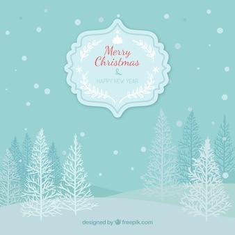 Winter Weihnachtsgruß