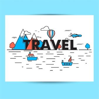 Wohnung Reisen Hintergrund