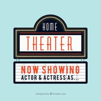 Wohnung Theater Zeichen