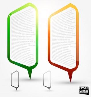 Worte Element denken kommunikation leer