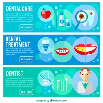 Zahnarzt Banner