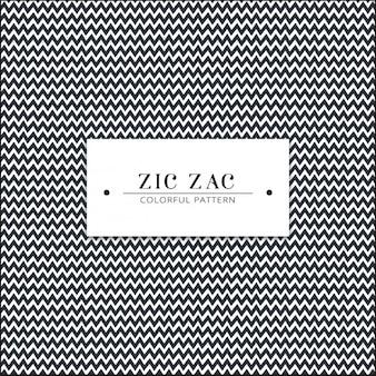 Zick-Zack-Muster Design