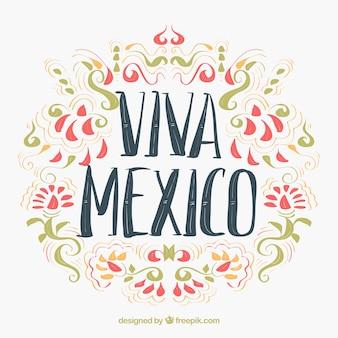 Zier mexikanischer Hintergrund