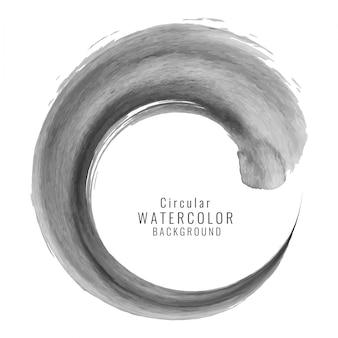 Zusammenfassung grauen Wirbel Aquarell splash Hintergrund