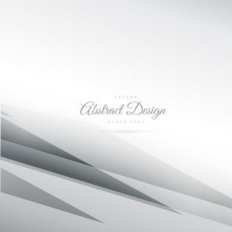 Zusammenfassung grauer Hintergrund Vektor mit geometrischen Linien