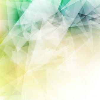 Zusammenfassung Hintergrund mit einem Low-Poly-Hintergrund