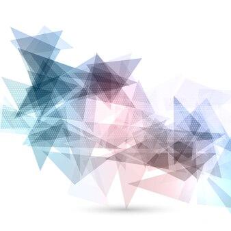 Zusammenfassung Hintergrund mit niedrigen Poly-Design